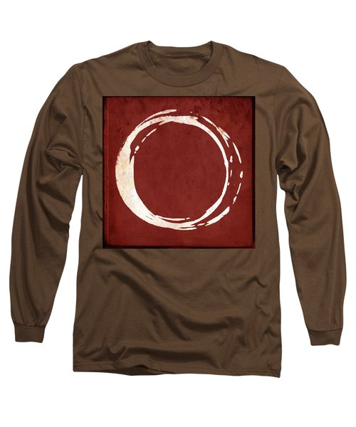 Enso No. 107 Red Long Sleeve T-Shirt
