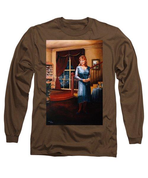 Delaina Long Sleeve T-Shirt by Duane R Probus