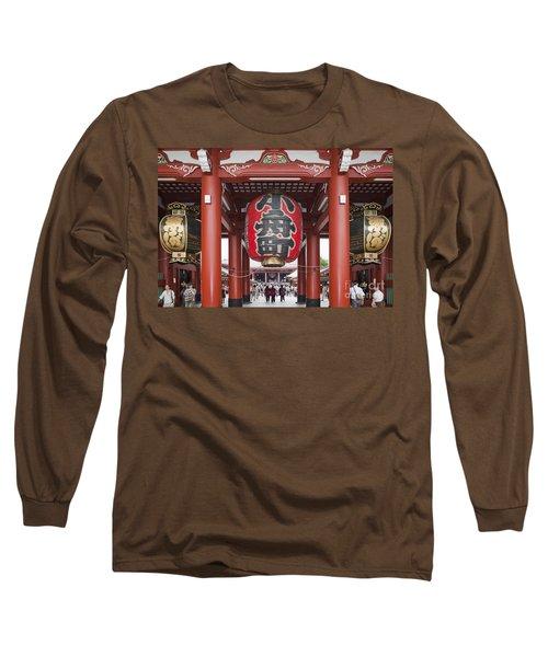 Entrance To Senso-ji Temple Long Sleeve T-Shirt