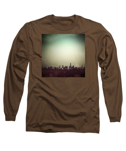 Escaping The City Long Sleeve T-Shirt by Trish Mistric