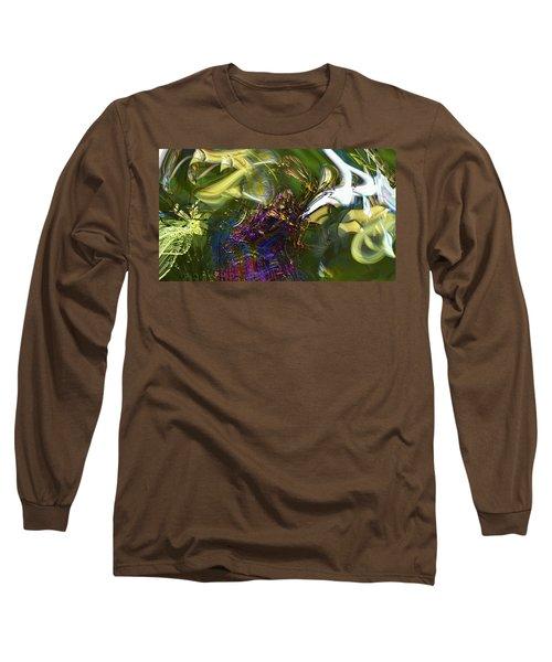 Long Sleeve T-Shirt featuring the photograph Esprit Du Jardin by Richard Thomas