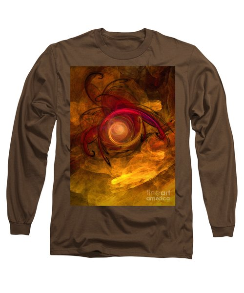 Eternity Of Being-abstract Expressionism Long Sleeve T-Shirt