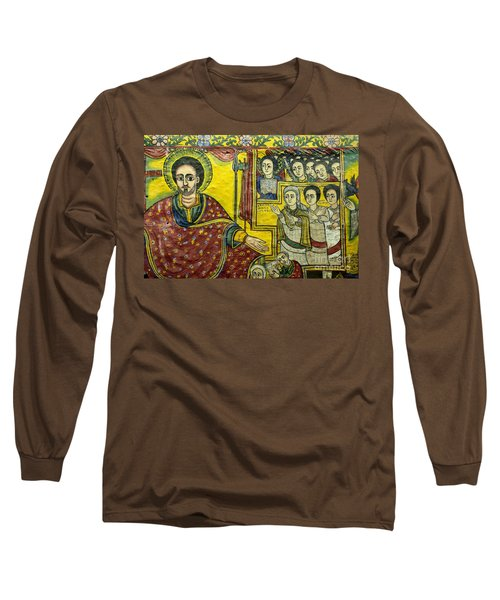 Ethiopian Church Paintings Long Sleeve T-Shirt