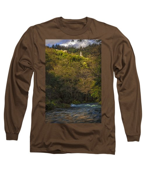 Long Sleeve T-Shirt featuring the photograph Eume River Galicia Spain by Pablo Avanzini