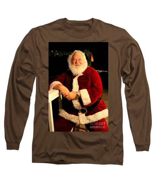Even Santa Needs A Break Long Sleeve T-Shirt