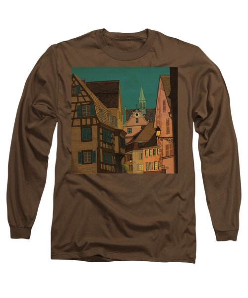 Evening Long Sleeve T-Shirt by Meg Shearer