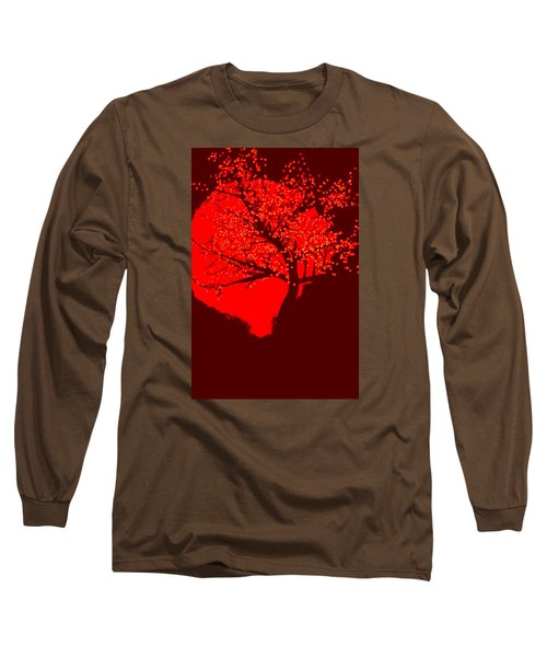 Evening Tree Long Sleeve T-Shirt