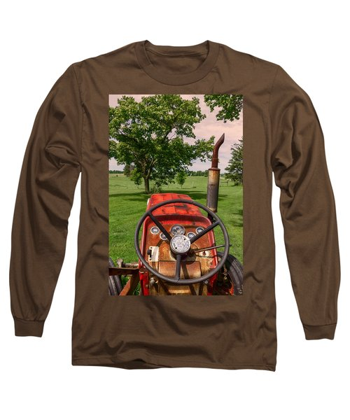 Ever Drive A Tractor Long Sleeve T-Shirt