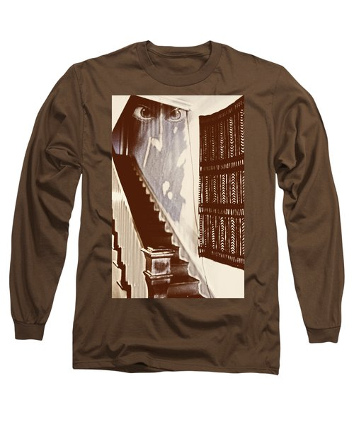 Eyes At The Top Of The Stairs Long Sleeve T-Shirt