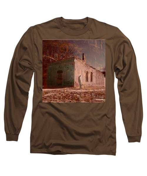 Faded Memories Long Sleeve T-Shirt by Desiree Paquette