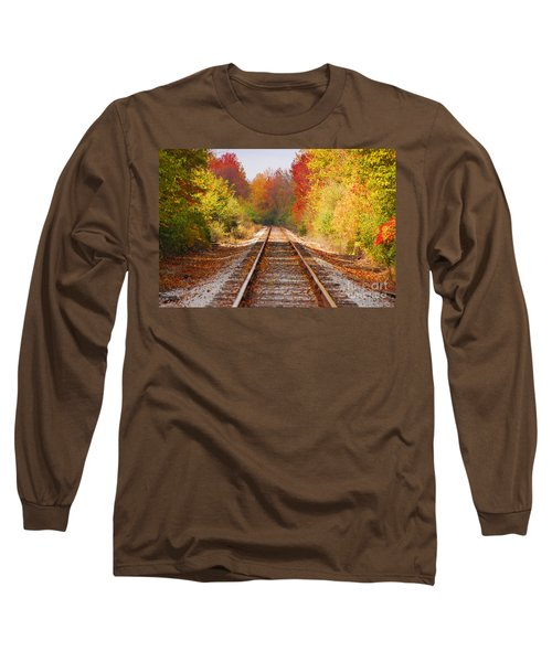 Fading Tracks Long Sleeve T-Shirt