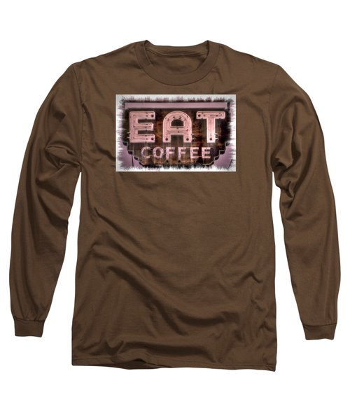 Fair Warning Or To The Point - Maryland Country Roads - Some Things Just Don't Go Together No. 2 Long Sleeve T-Shirt by Michael Mazaika