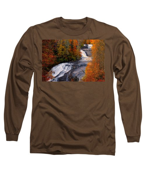 Fall At Triple Falls Long Sleeve T-Shirt