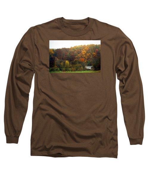 Fall At Valley Forge Long Sleeve T-Shirt by Skip Willits