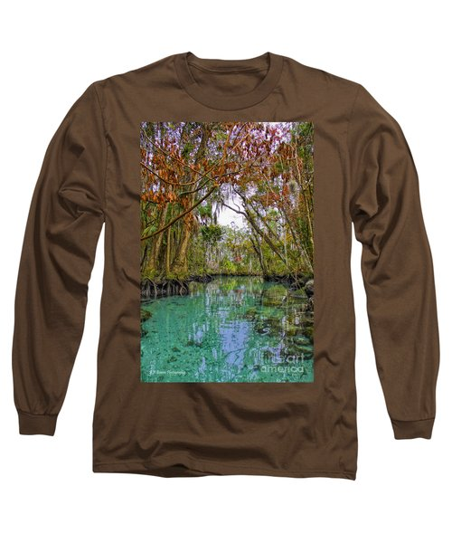 Fall Colors Along Three Sisters Spring Run Long Sleeve T-Shirt