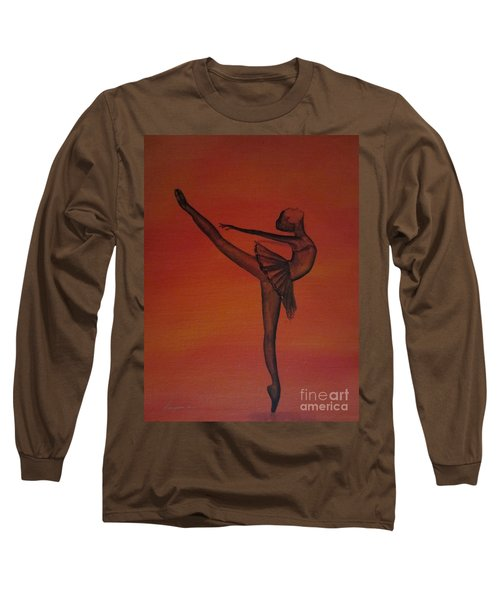 Fall Dancer 1 Long Sleeve T-Shirt by Laurianna Taylor