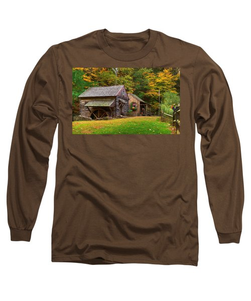 Fall Down On The Farm Long Sleeve T-Shirt