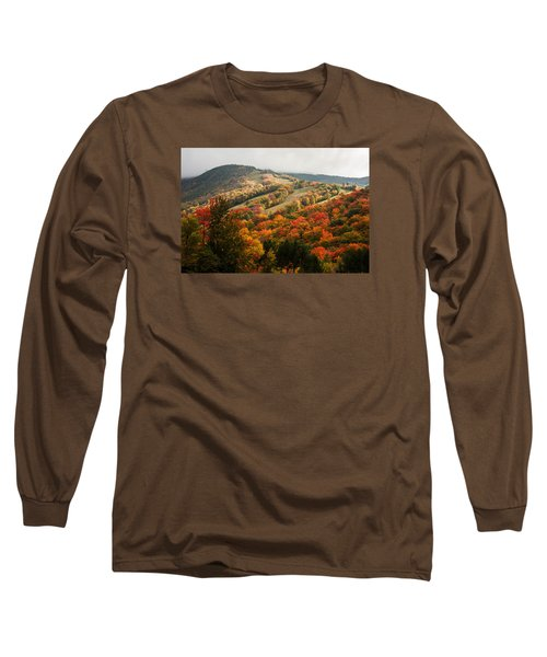 Fall Foliage On Canon Mountain Nh Long Sleeve T-Shirt