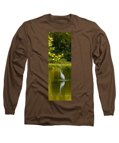 Fall Heron Long Sleeve T-Shirt