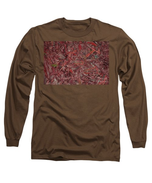 Long Sleeve T-Shirt featuring the photograph Fall Leaves by Mini Arora