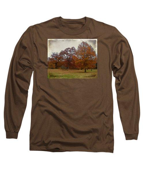 Fall On Antioch Road Long Sleeve T-Shirt