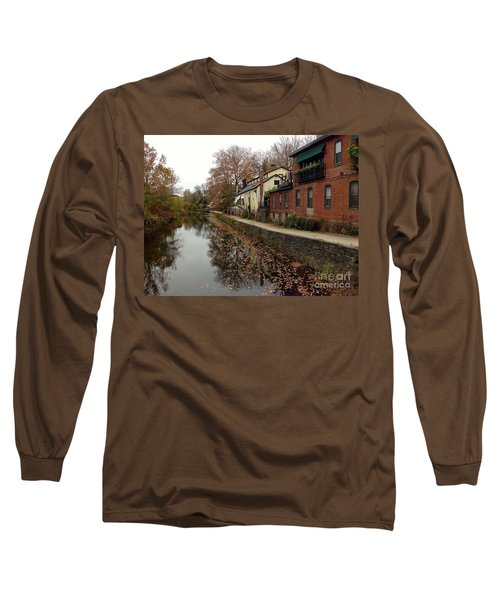 Fall On The Canal Long Sleeve T-Shirt