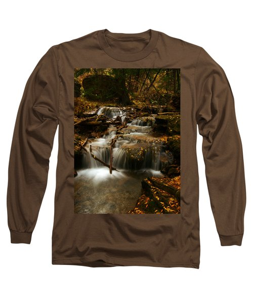 Fall With Grace Long Sleeve T-Shirt by Jeremy Rhoades