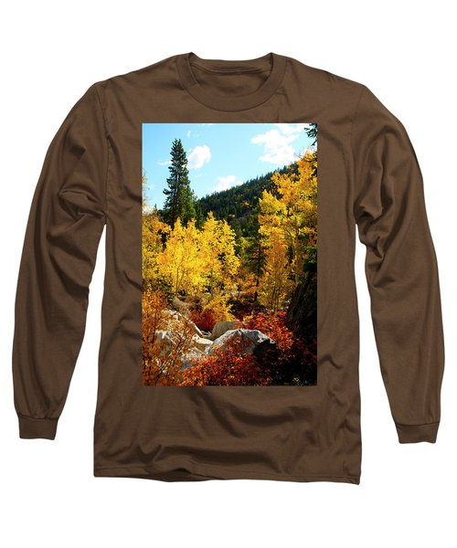 Fall2 Long Sleeve T-Shirt by Jeremy Rhoades