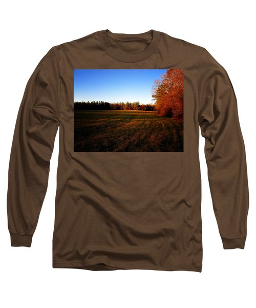 Long Sleeve T-Shirt featuring the photograph Fallow Field by Greg Simmons