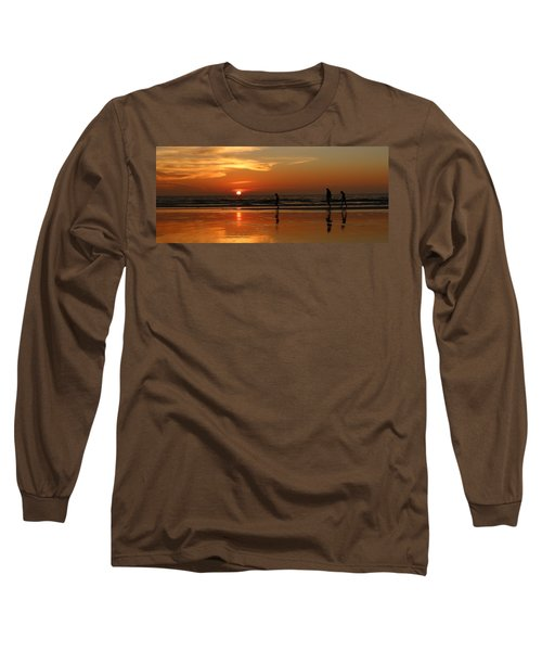 Family Reflections At Sunset - 5 Long Sleeve T-Shirt