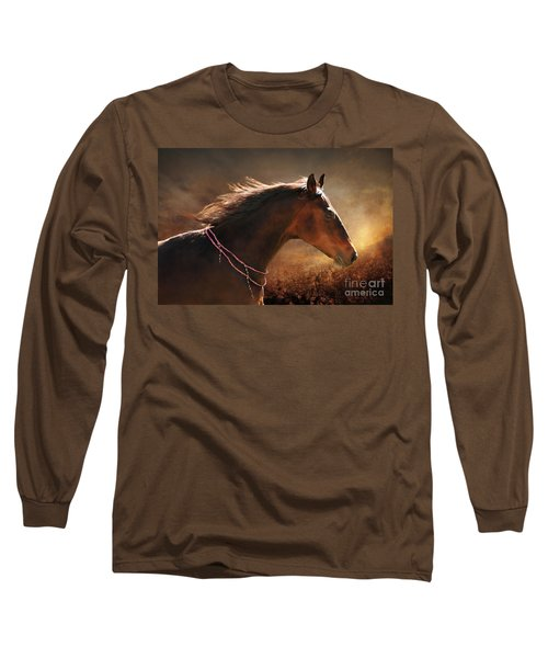 Fancy Free Long Sleeve T-Shirt by Michelle Twohig