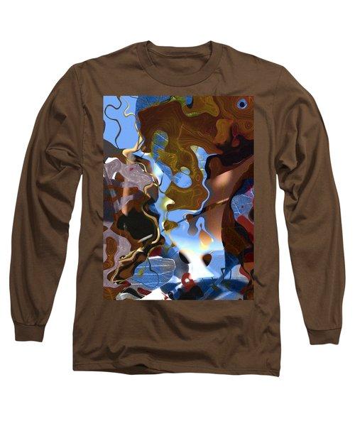 Long Sleeve T-Shirt featuring the digital art Fargo by Richard Thomas