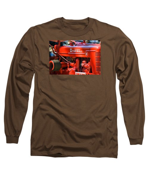 Farm Tractor 11 Long Sleeve T-Shirt by Thomas Woolworth