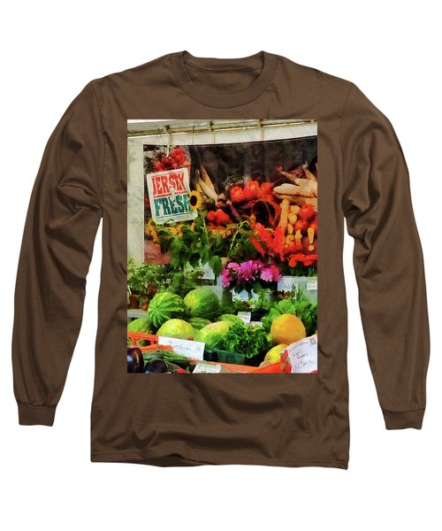 Farmer's Market Long Sleeve T-Shirt