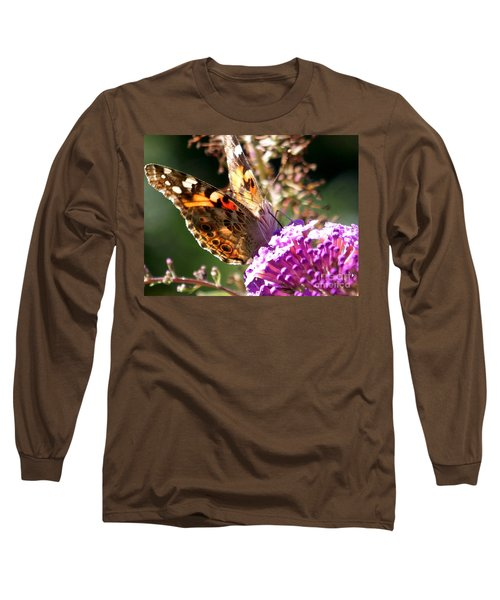 Long Sleeve T-Shirt featuring the photograph Feeding by Eunice Miller