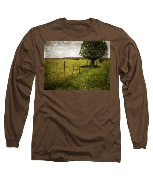 Fence With Tree Long Sleeve T-Shirt
