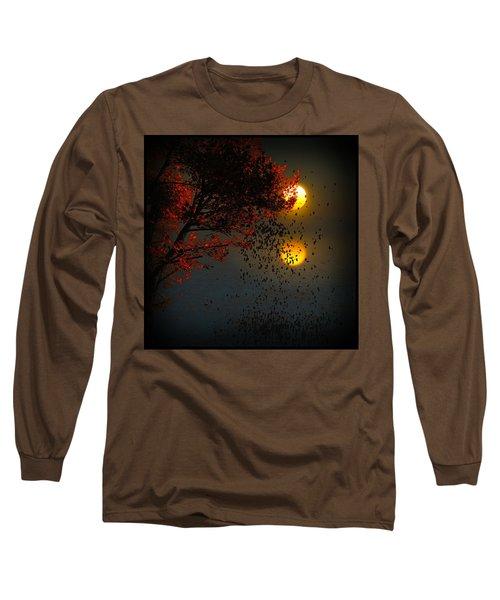 Fiery Fall... Long Sleeve T-Shirt