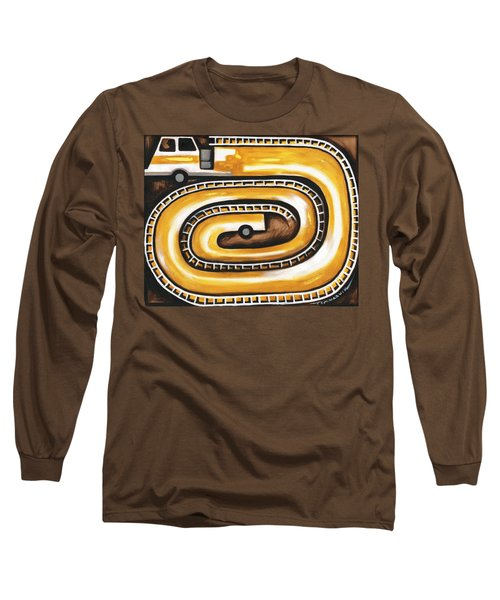 Tommervik Yellow Fire Truck Firefighter Art Print Long Sleeve T-Shirt
