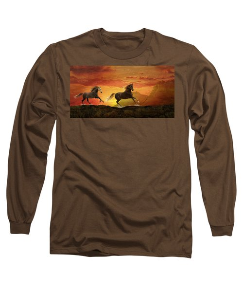 Fire Sky Long Sleeve T-Shirt