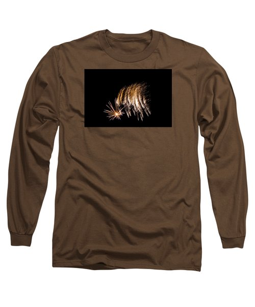 Long Sleeve T-Shirt featuring the photograph Fireworks 1 by Susan  McMenamin