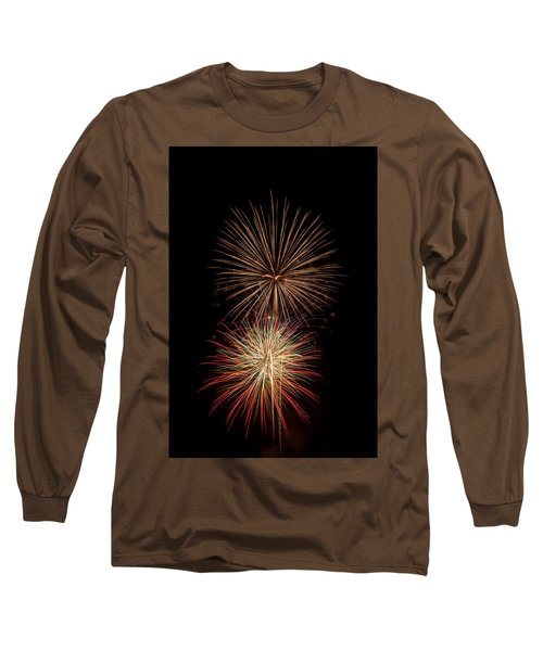 Fireworks Long Sleeve T-Shirt by Michael McGowan