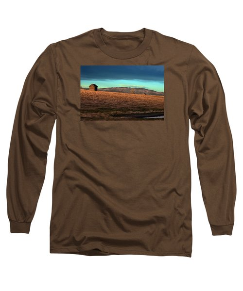 First Light Long Sleeve T-Shirt by Ed Hall
