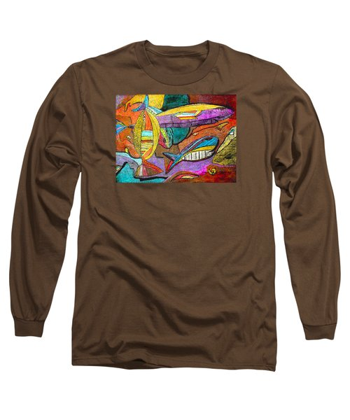 Fish And Chips Long Sleeve T-Shirt