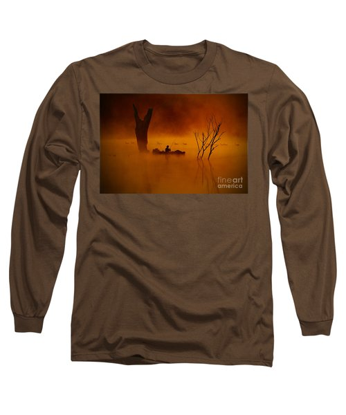 Fishing Among Nature Long Sleeve T-Shirt