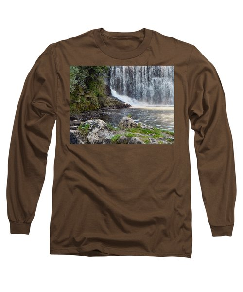 Long Sleeve T-Shirt featuring the photograph Fishing Hole by Deb Halloran