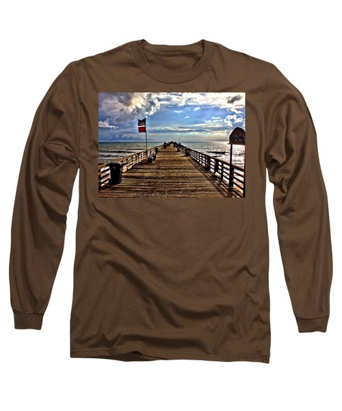 Flagler Pier Long Sleeve T-Shirt