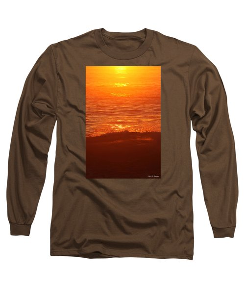 Long Sleeve T-Shirt featuring the photograph Flames With No Horizon by Amy Gallagher