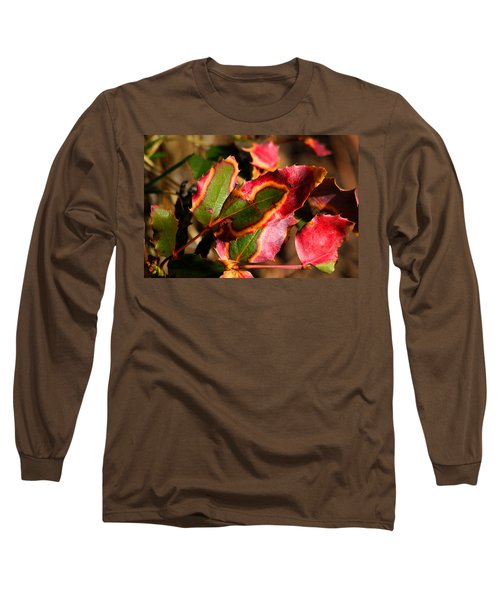 Flaming Leaves Long Sleeve T-Shirt