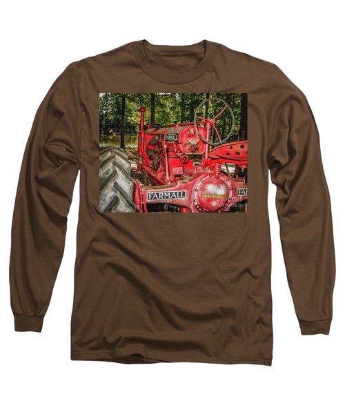 Flash On Farmall Long Sleeve T-Shirt