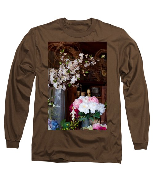 Floral Display Long Sleeve T-Shirt